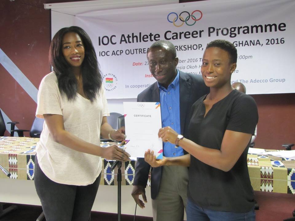 Swimmer Laila Zangwio reflects on IOCACP
